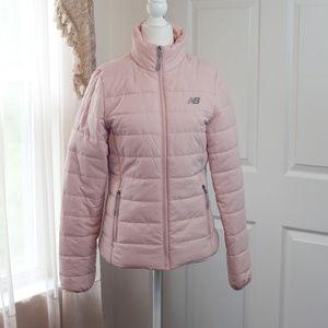 New Balance Pink Puffer Jacket EUC